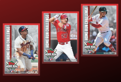 Step up to the plate with the Topps Home Run Challenge