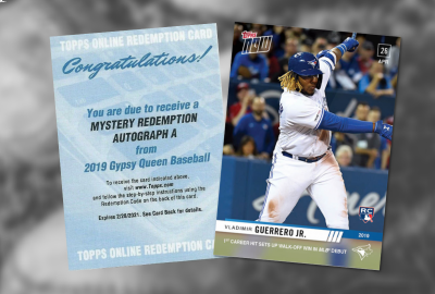 Topps announces 2019 Mystery Redemption A