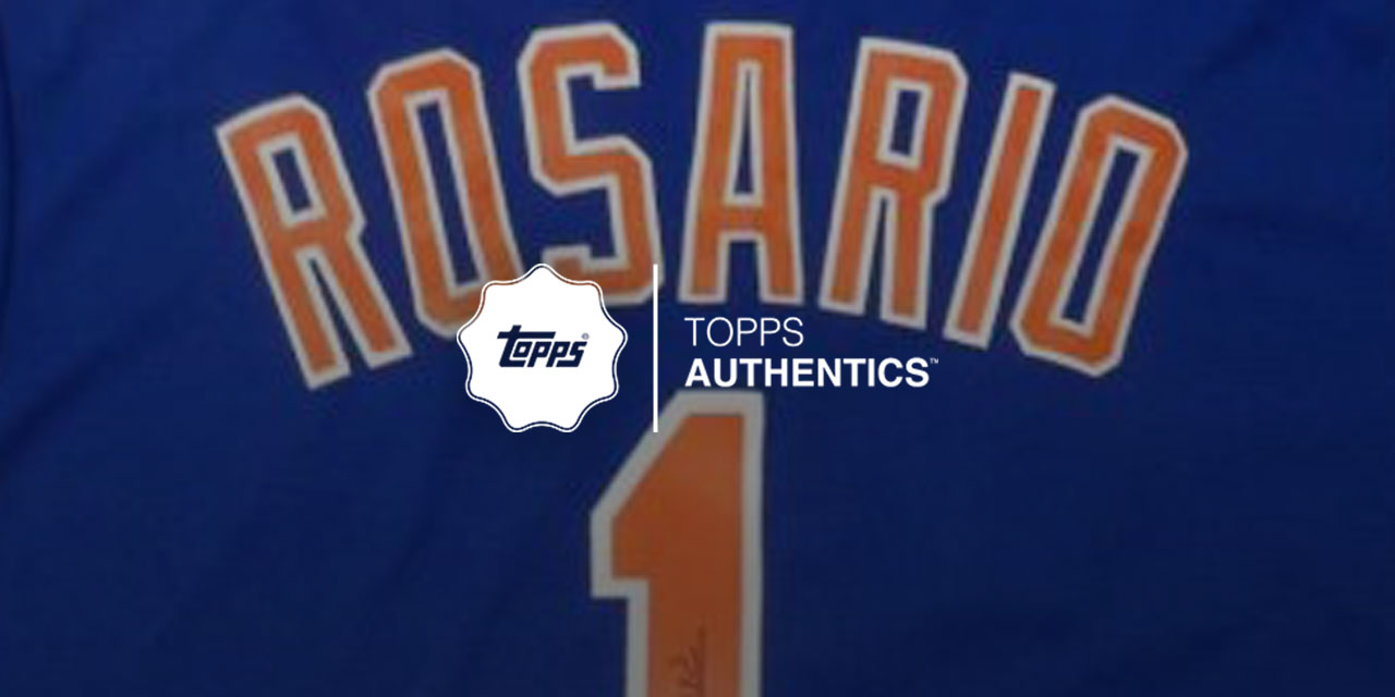 Amed Rosario Authentics - 50% OFF - TODAY ONLY!!