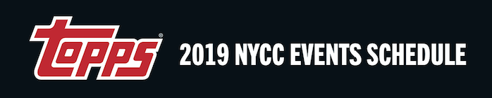 Topps Announces Plans for New York Comic Con 2019