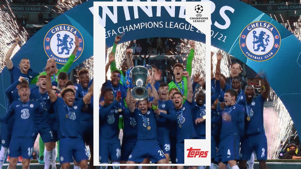 Topps extends partnership with Europe's top football competitions as collectibles partner of the UEFA Club competitions