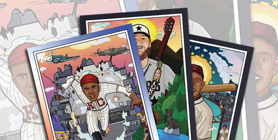 Topps Baseball Cards, Music City Baseball and the Negro Leagues Baseball Museum to Partner and launch Nashville Stars Rookie Cards