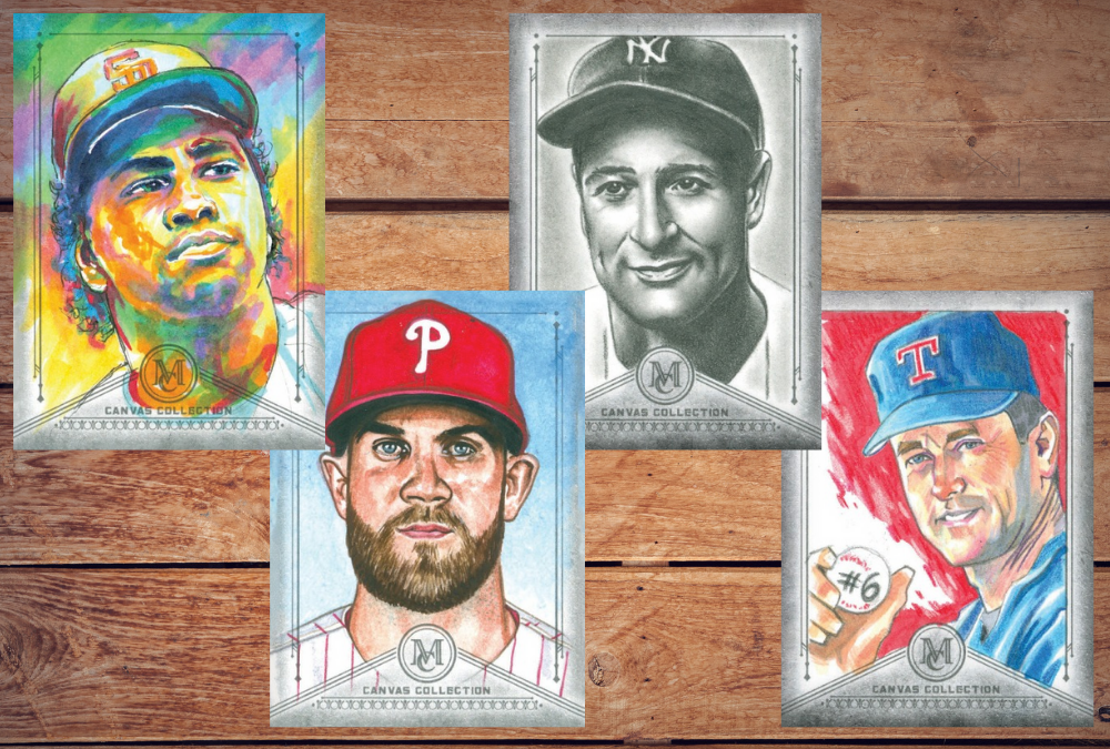 Sketch artists for 2019 Topps Museum Collection Baseball revealed