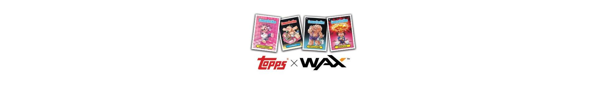 THE TOPPS COMPANY PARTNERS WITH WAX TO BRING GARBAGE PAIL KIDS COLLECTIBLE CARDS TO LIFE ON THE BLOCKCHAIN