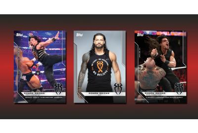 Topps Joins WWE Superstar Roman Reigns In Fight Against Cancer