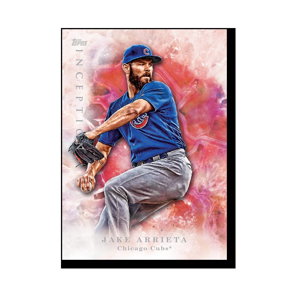 Jake Arrieta 2017 Topps Inception Baseball Poster – #d to 99