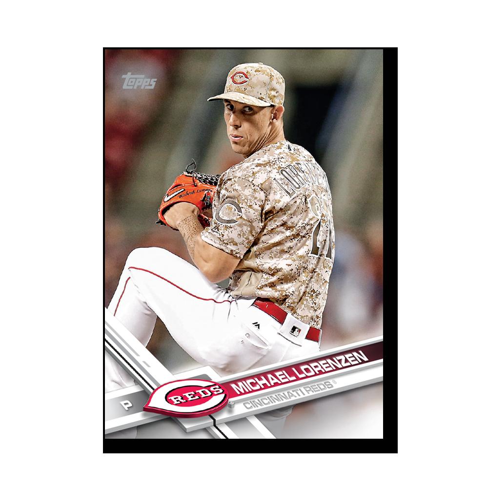 Michael Lorenzen 2017 Topps Baseball Series 2 VETERANS Poster – # to 99