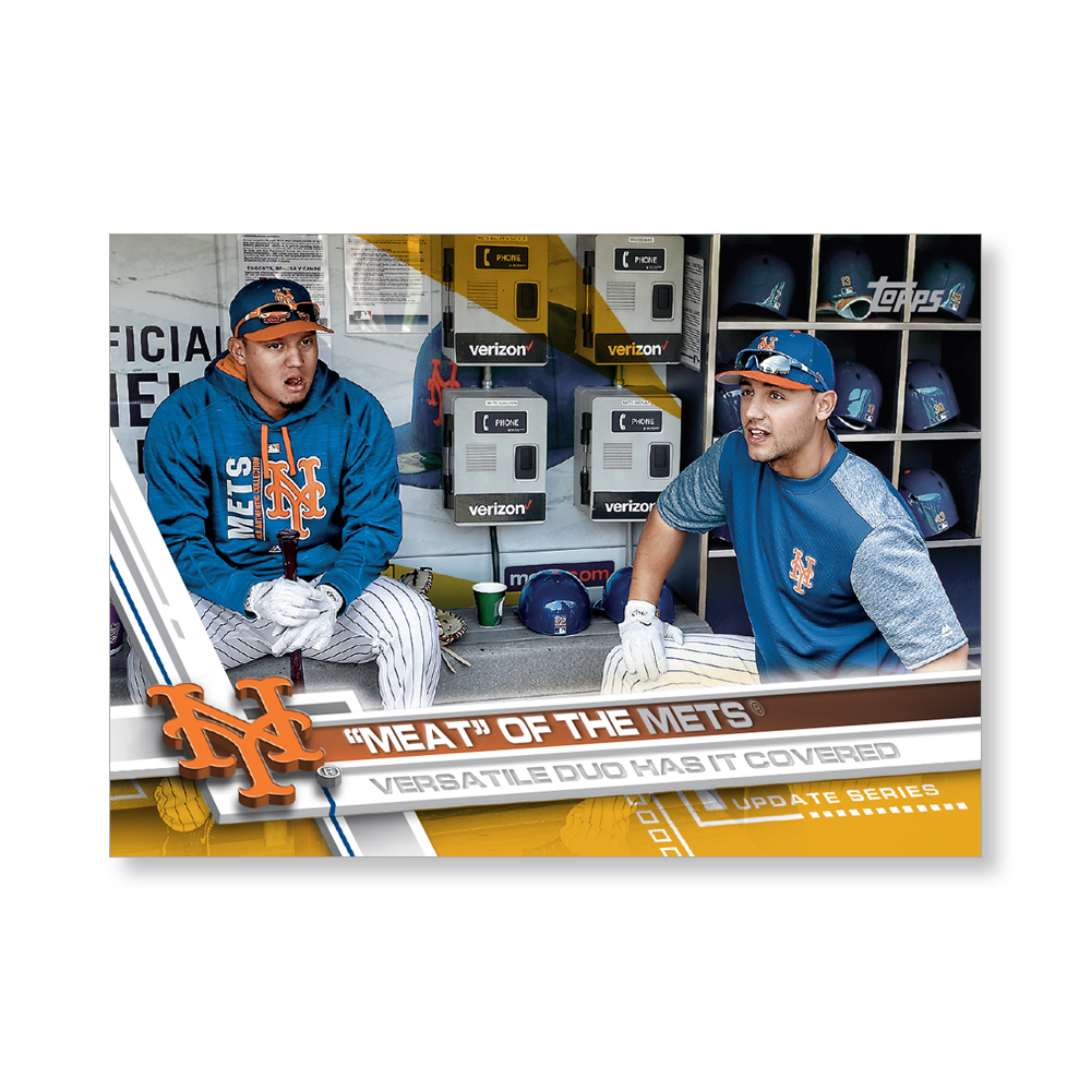 Wall Art featuring artwork from 2017 Topps Baseball Update! SPECS: Hand Numbered to 1 10 x 14 printed on a rigid ultra-high gloss UV coated trading card stock Archival inks for lasting color fidelity Product ships within 3-5 days All Numbered item sales are FINAL.