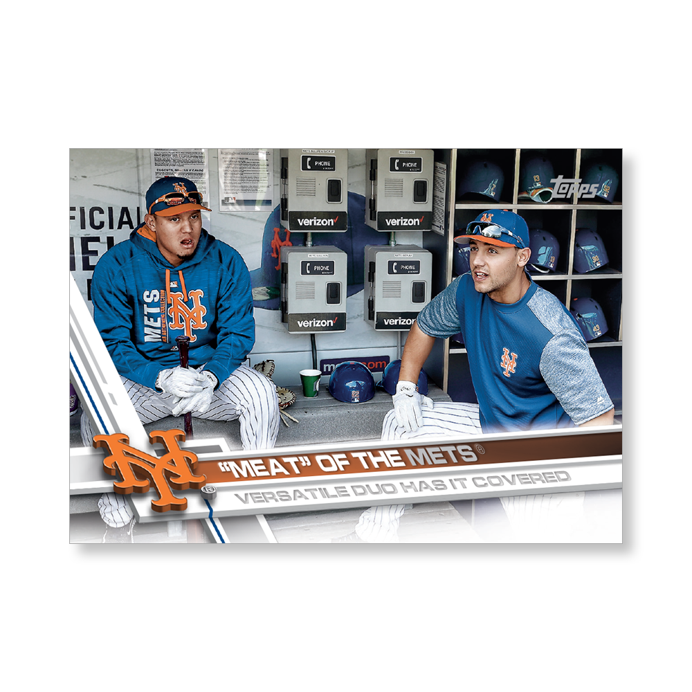 Wall Art featuring artwork from 2017 Topps Baseball Update! SPECS: Hand Numbered to 99 10 x 14 printed on a rigid ultra-high gloss UV coated trading card stock Archival inks for lasting color fidelity Product ships within 3-5 days All Numbered item sales are FINAL.