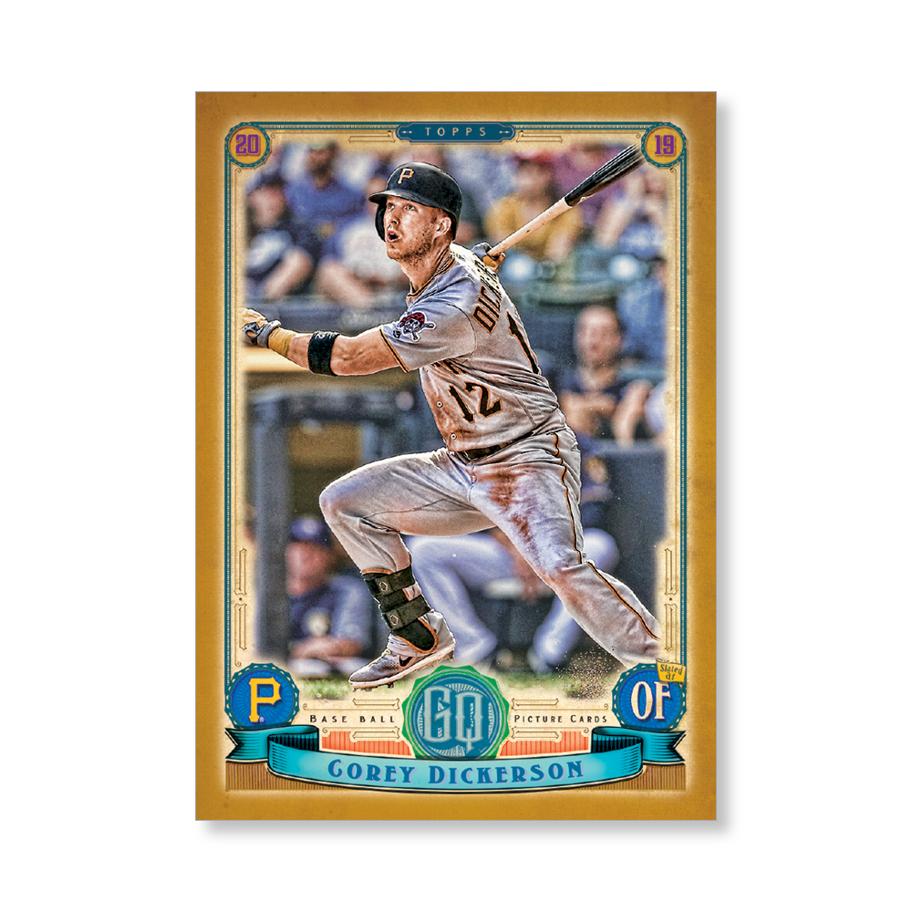 Corey Dickerson Gypsy Queen Base Poster Gold Ed. # to 1