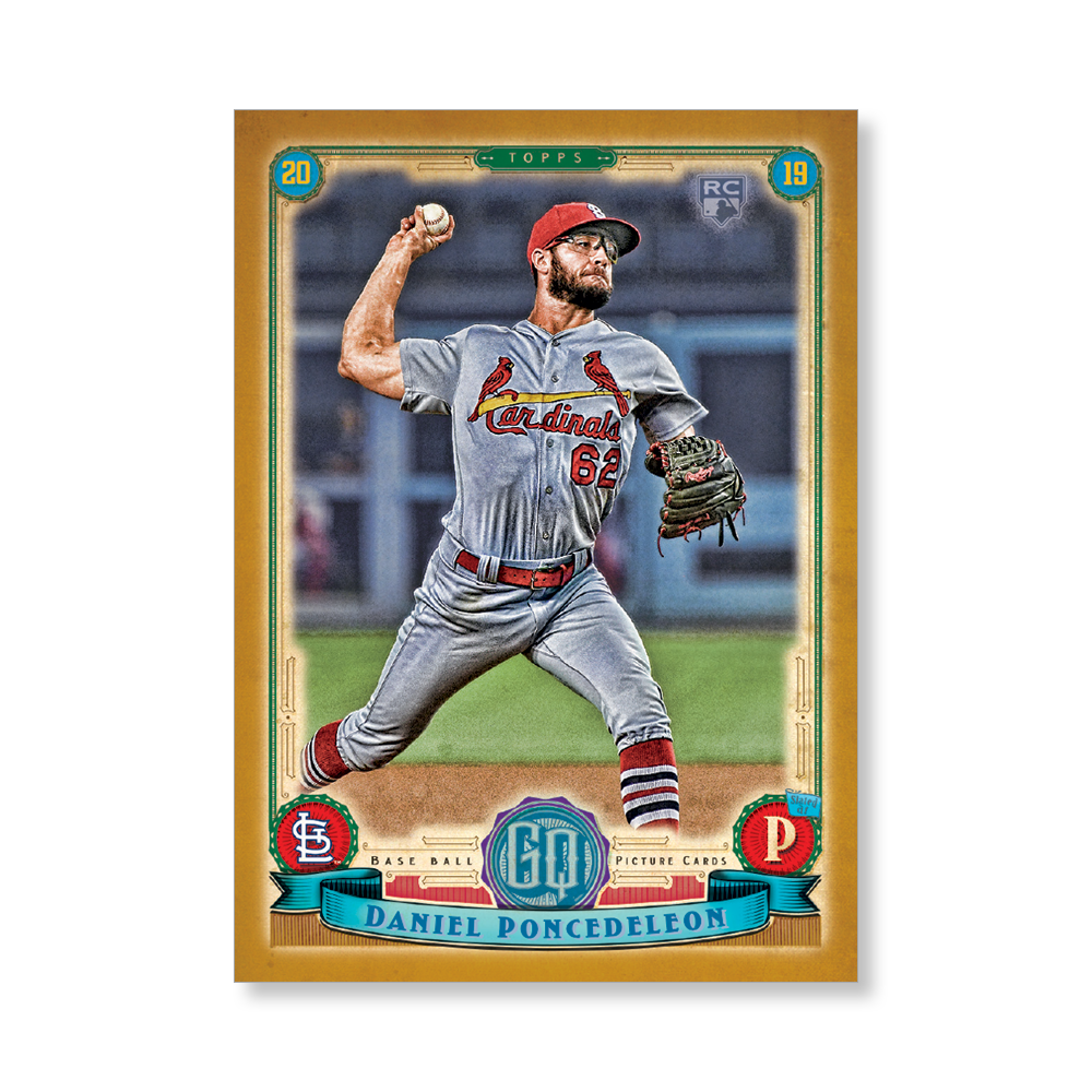 Daniel Poncedeleon Gypsy Queen Base Poster Gold Ed. # to 1