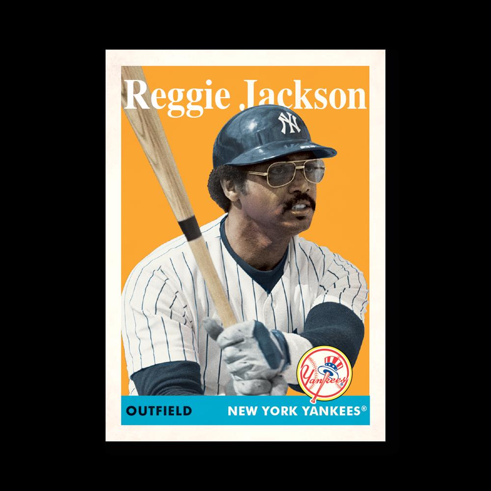 Reggie Jackson 2019 Archives Baseball 1958 Topps Poster # to 99
