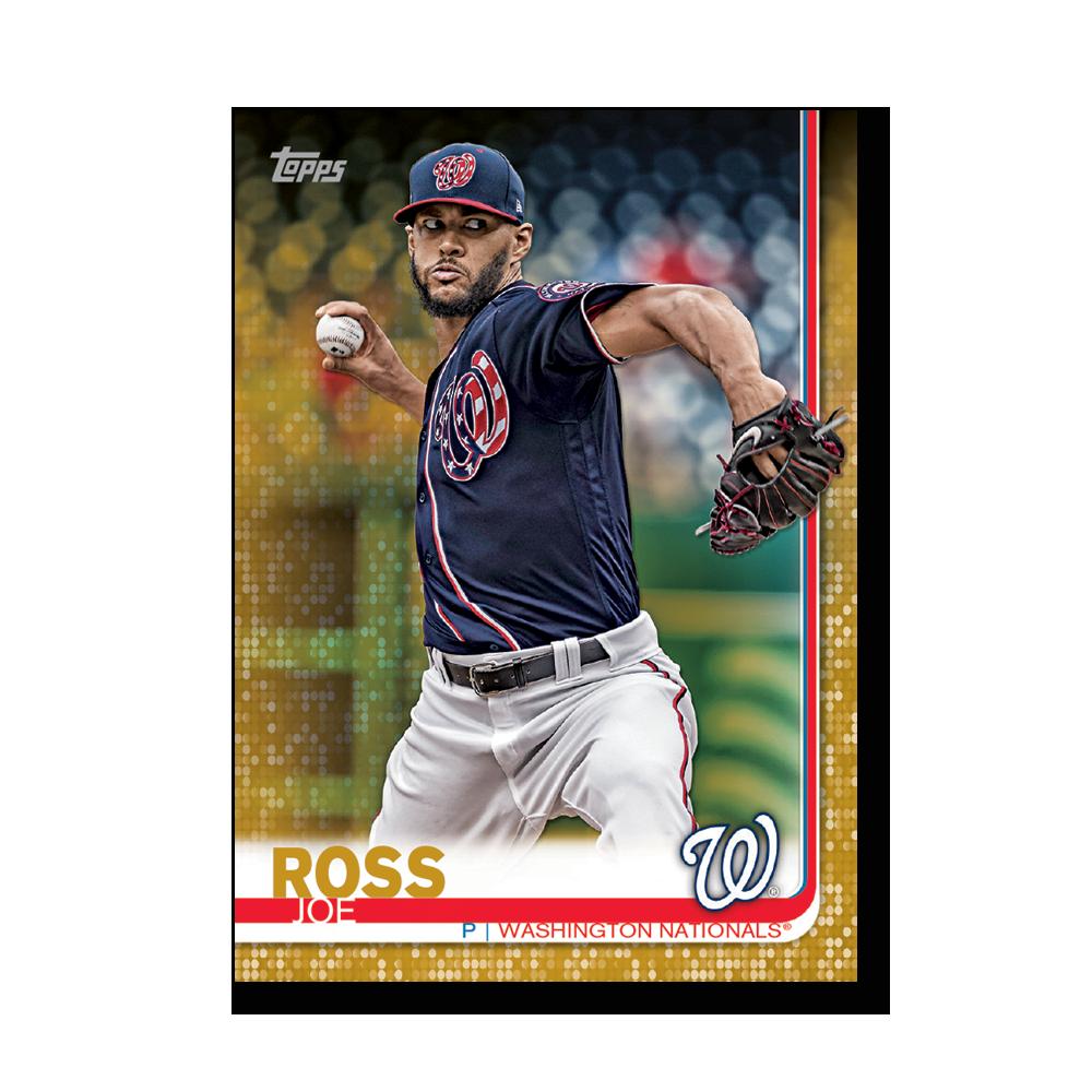 Joe Ross 2019 Topps Baseball Series 2 Veterans III Poster Gold Ed. # to 1