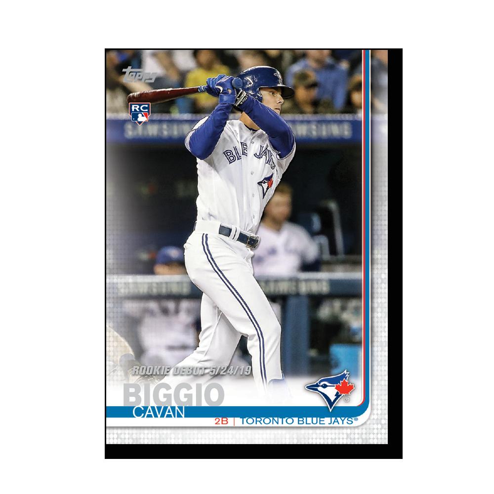 Cavan Biggio 2019 Topps Baseball Update Series Rookie Debut Poster # to 99