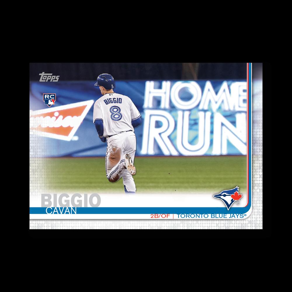Cavan Biggio 2019 Topps Baseball Update Series Super Short Printed Rookie Variation Poster # to 99