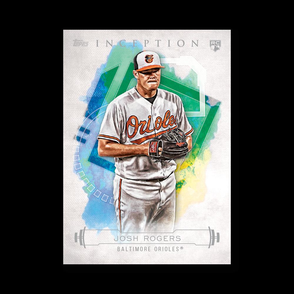 Josh Rogers 2019 Inception Baseball Base Poster # to 99