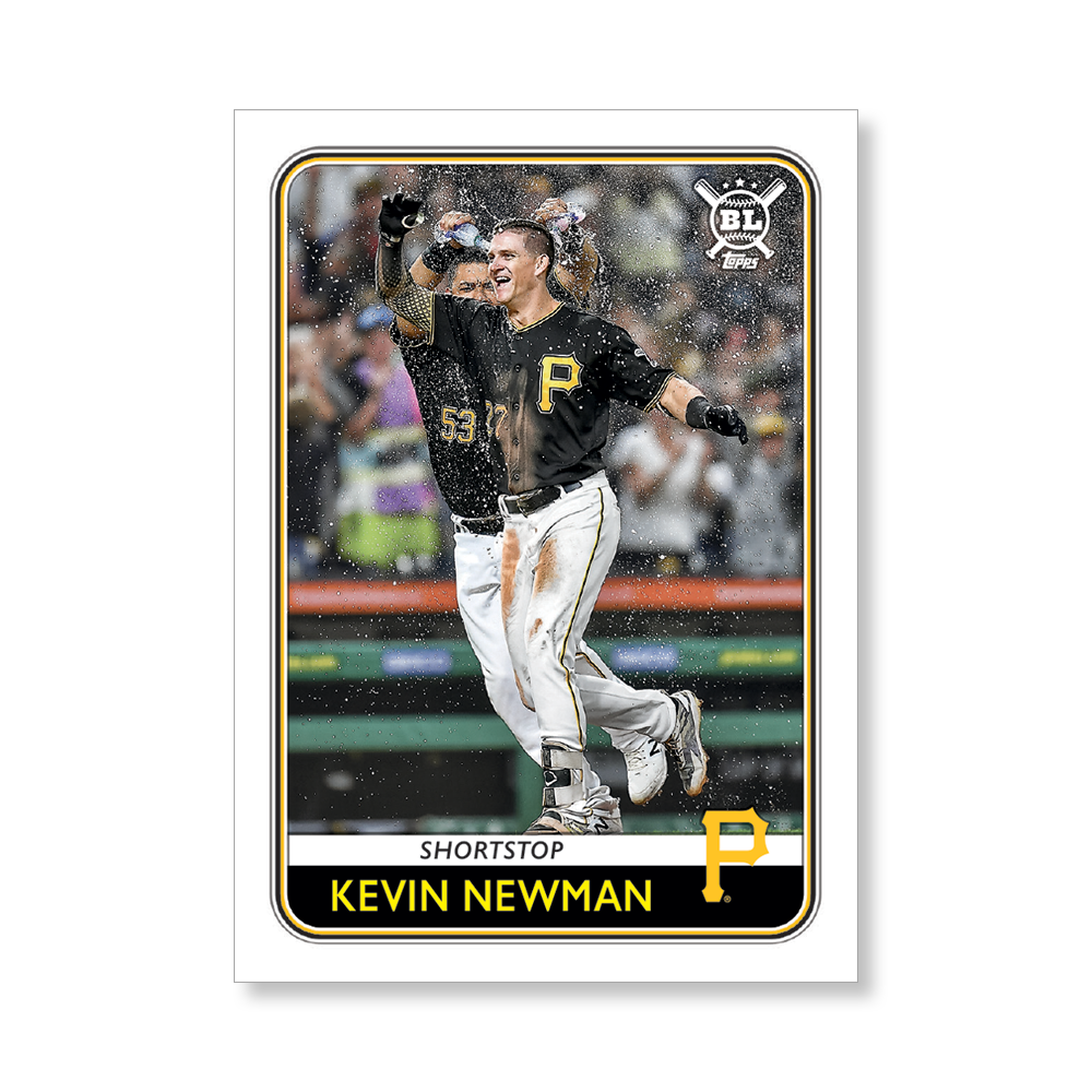 Kevin Newman 2020 Big League Baseball VETERANS AND ROOKIES II Poster # to 99