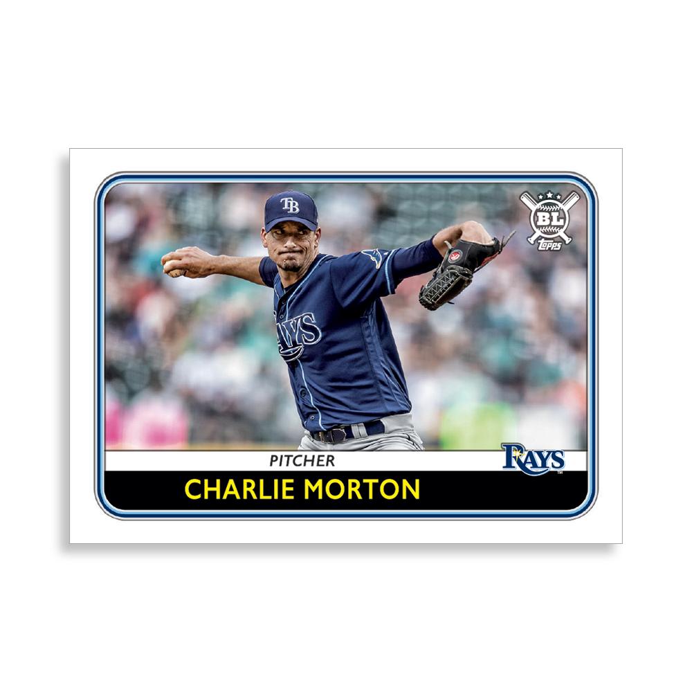 Charlie Morton 2020 Big League Baseball VETERANS AND ROOKIES II Poster # to 99
