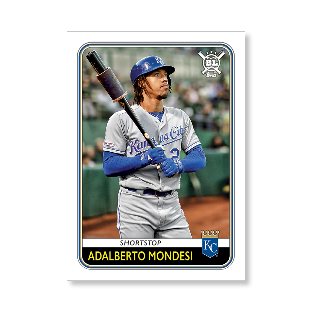 Adalberto Mondesi 2020 Big League Baseball VETERANS AND ROOKIES II Poster # to 99