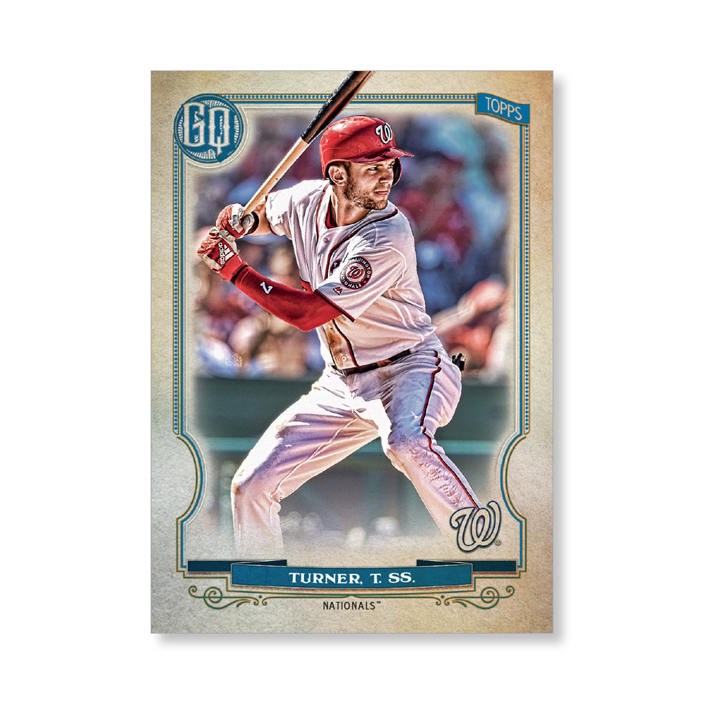 Trea Turner 2020 Gypsy Queen Base Card Poster # to 99