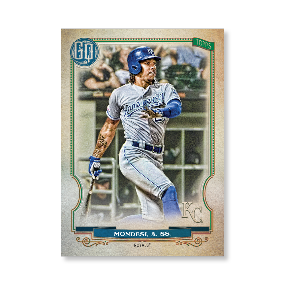 Adalberto Mondesi 2020 Gypsy Queen Base Card Poster # to 99