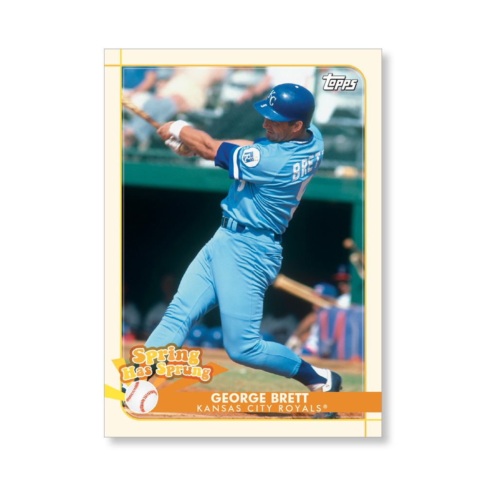 George Brett 2020 Opening Day Baseball Spring Has Sprung Poster # to 99