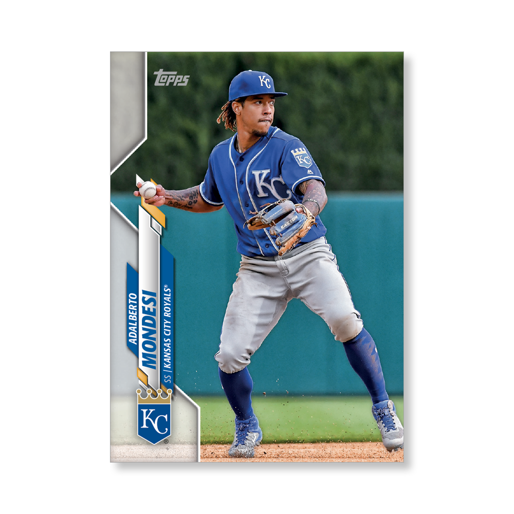 Adalberto Mondesi 2020 Topps Series 1 Base Card Poster # to 99