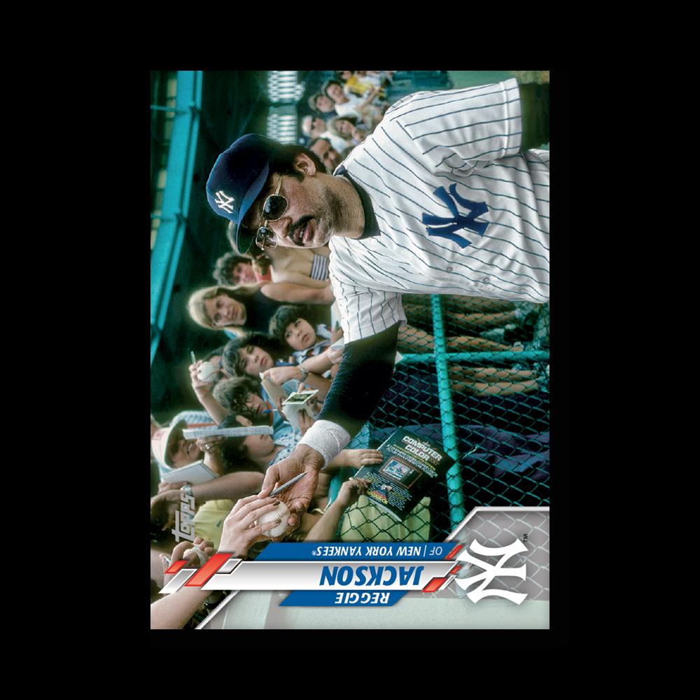 Reggie Jackson 2020 Topps Series 1 Base Card Short Prints Poster # to 99