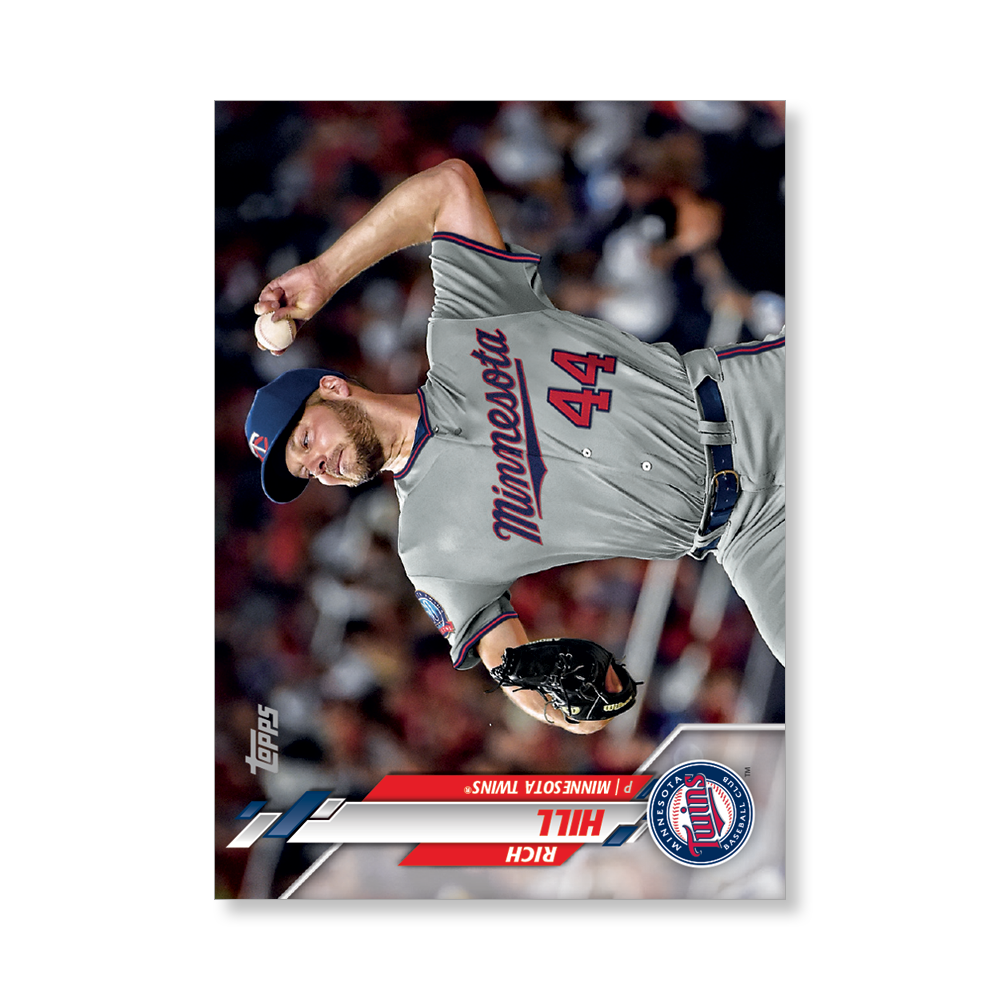 Rich Hill 2020 Topps Baseball Series 2 Base Poster # to 99