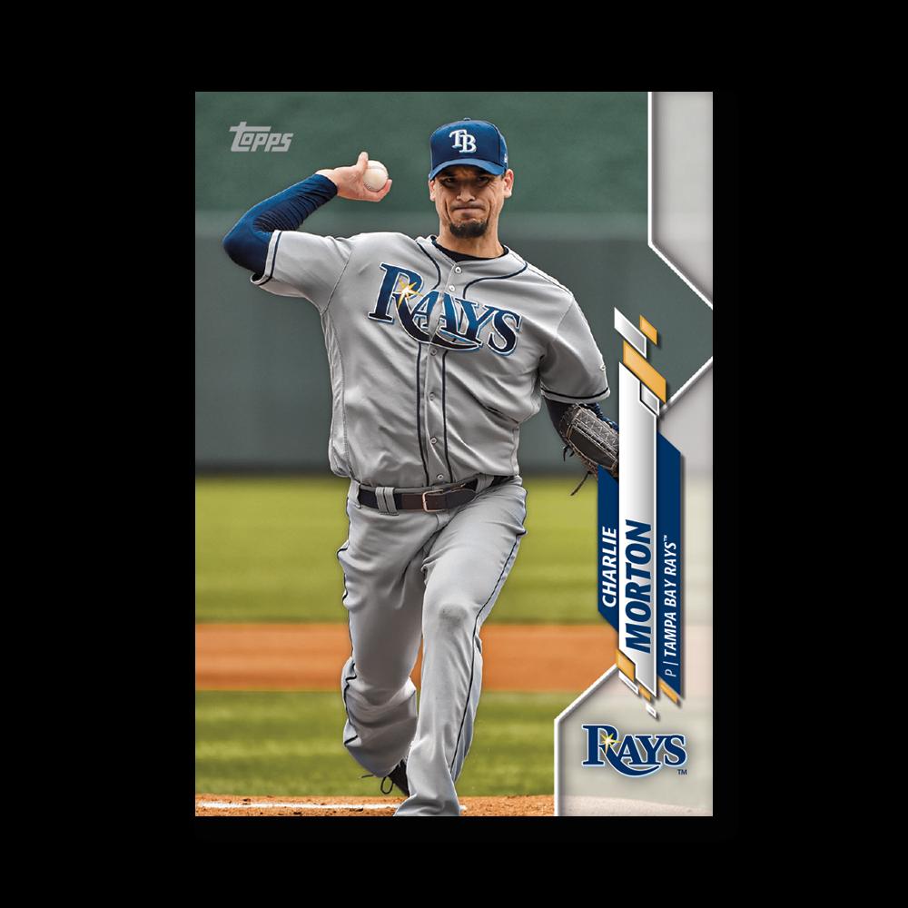 Charlie Morton 2020 Topps Baseball Series 2 Base Poster # to 99