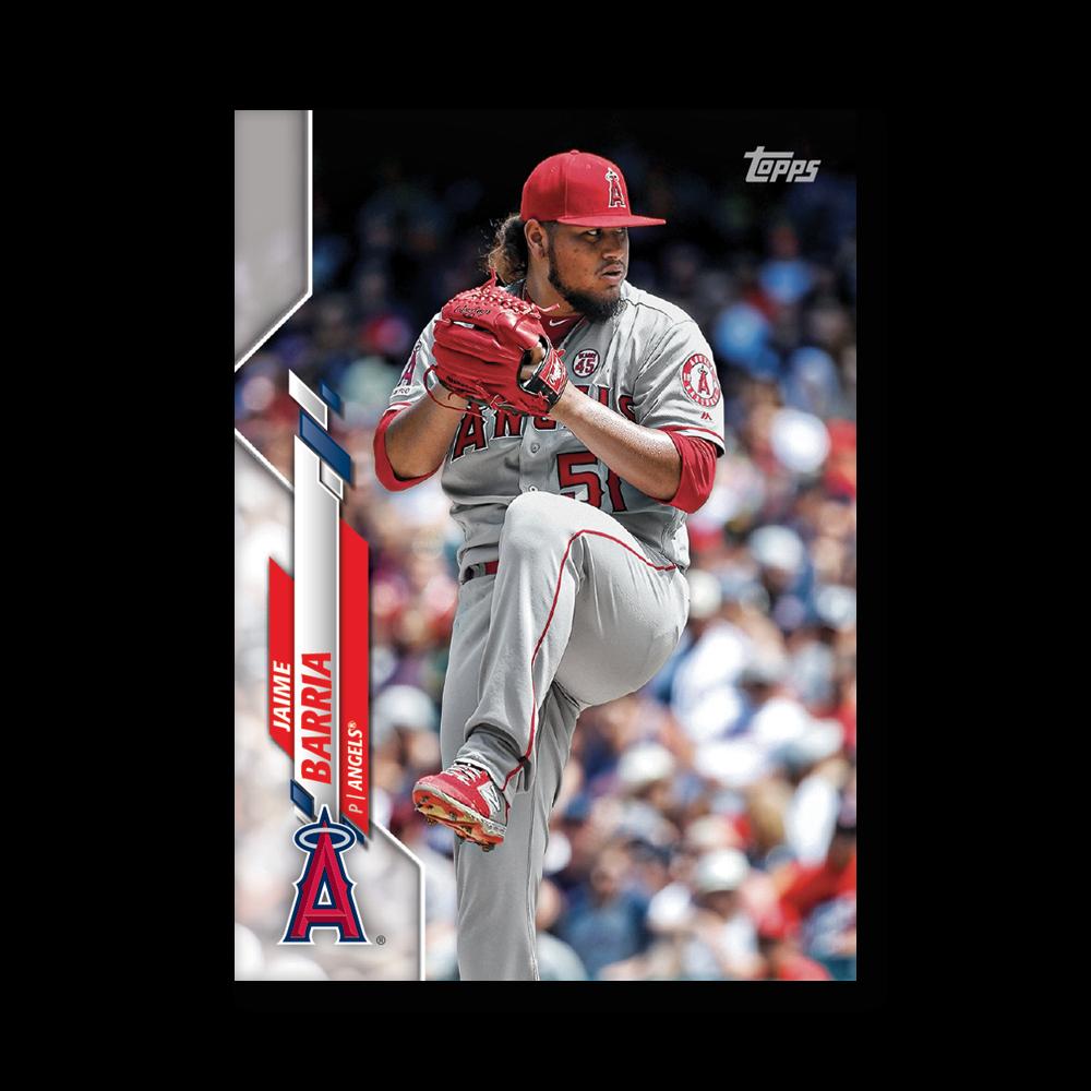 Jaime Barria 2020 Topps Baseball Series 2 Base Poster # to 99
