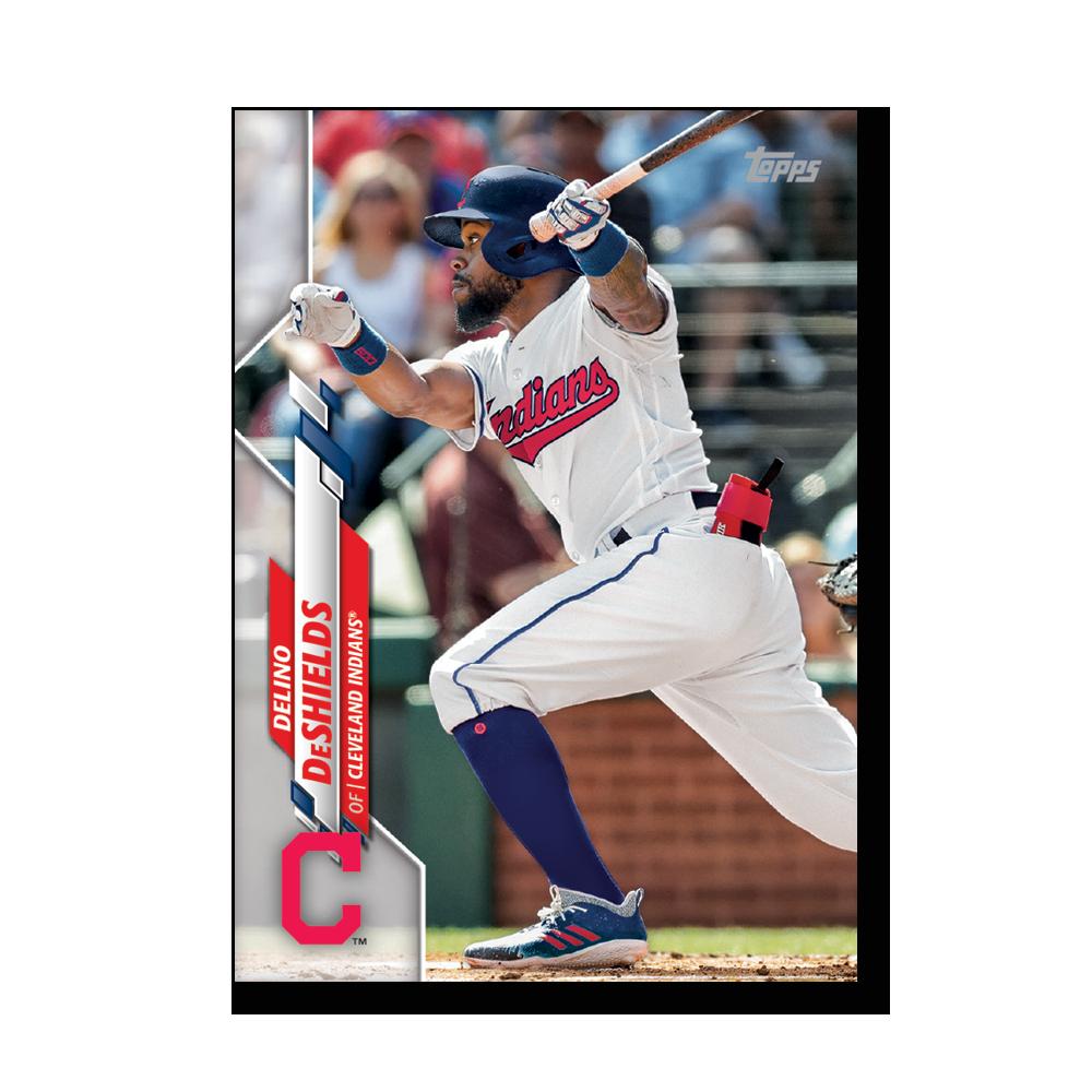 Delino DeShields 2020 Topps Baseball Series 2 Base Poster # to 99