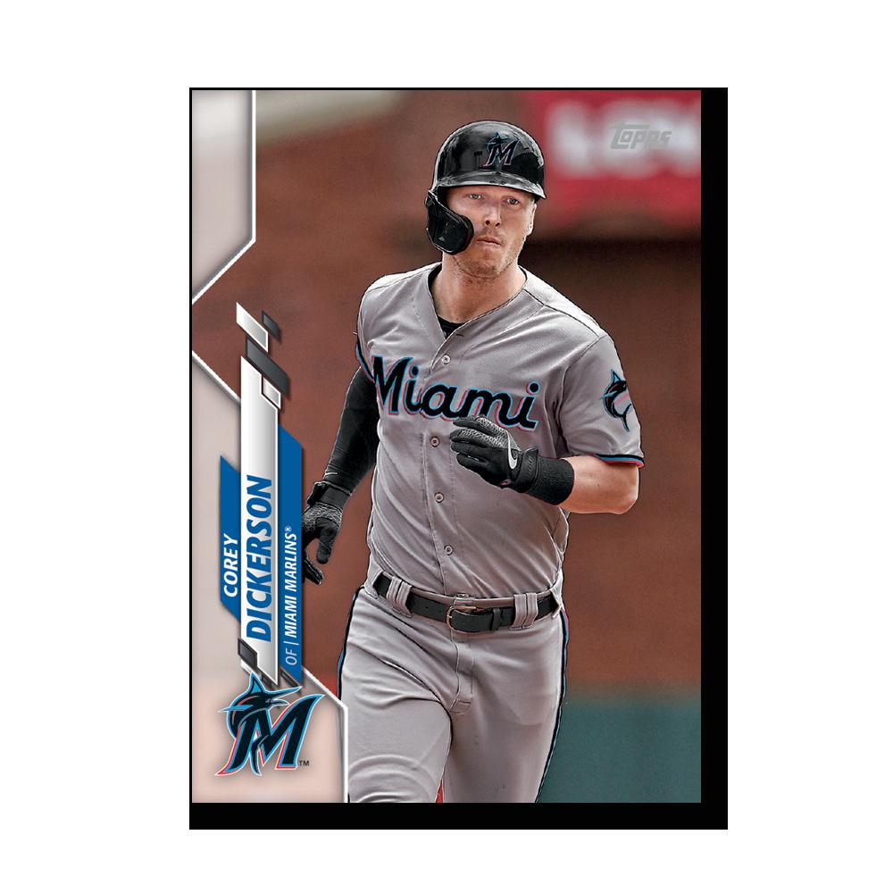 Corey Dickerson 2020 Topps Baseball Series 2 Base Poster # to 99