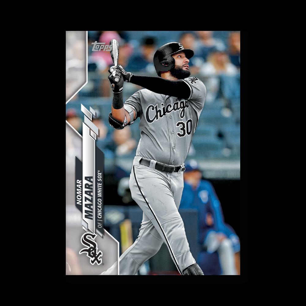 Nomar Mazara 2020 Topps Baseball Series 2 Base Poster # to 99