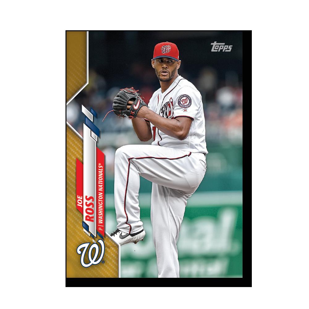 Joe Ross 2020 Topps Baseball Series 2 Base Poster Gold Ed. # to 1