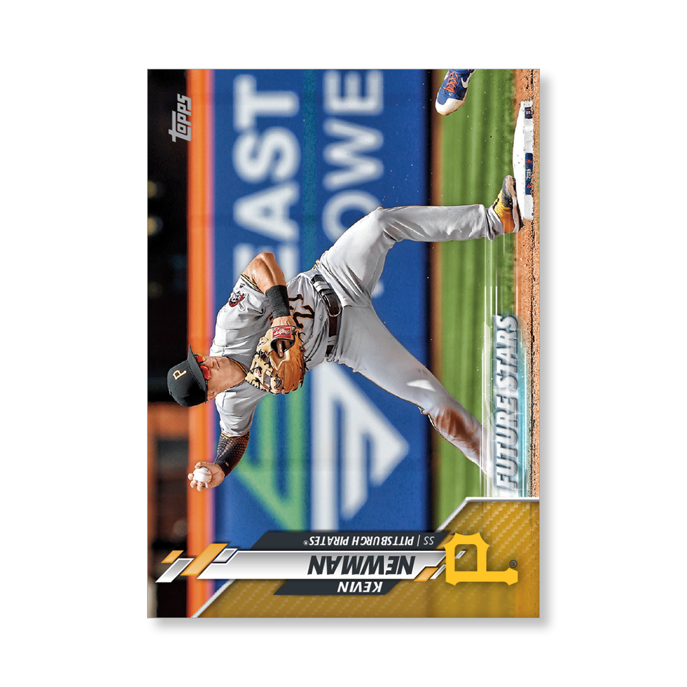 Kevin Newman 2020 Topps Baseball Series 2 FUTURE STARS Poster Gold Ed. # to 1