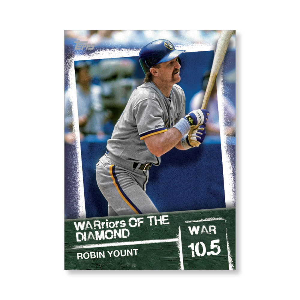 Robin Yount 2020 Topps Baseball Series 2 WARRIORS OF THE DIAMOND Poster # to 99