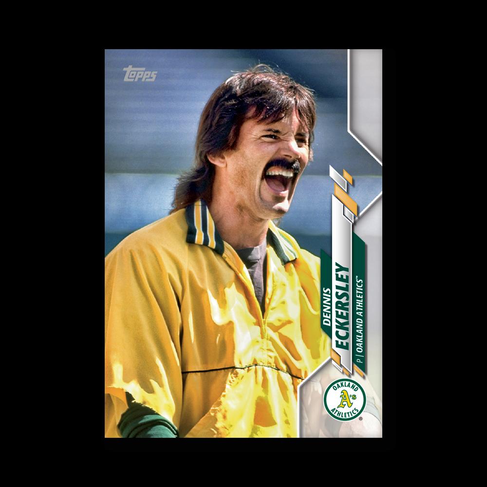 Dennis Eckersley 2020 Topps Baseball Series 2 BASE CARD SHORT PRINTS Poster # to 99