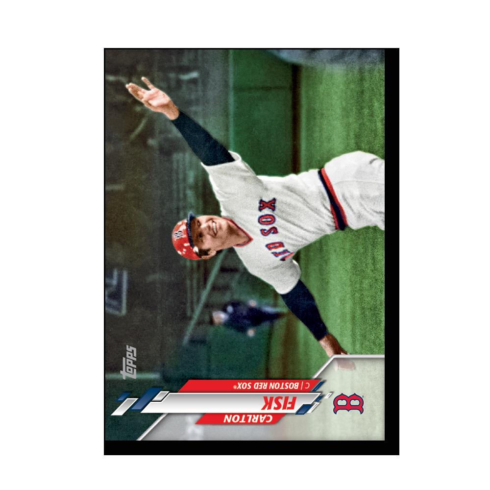Carlton Fisk 2020 Topps Baseball Series 2 BASE CARD SHORT PRINTS Poster # to 99