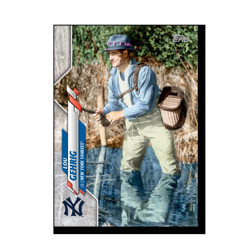 Lou Gehrig 2020 Topps Baseball Series 2 BASE CARD SUPER SHORT PRINTS Poster # to 99