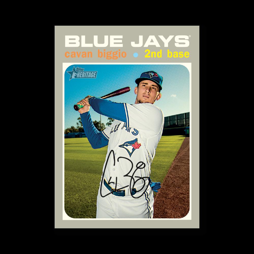 Cavan Biggio 2020 Topps Heritage Baseball Base Cards Poster # to 99