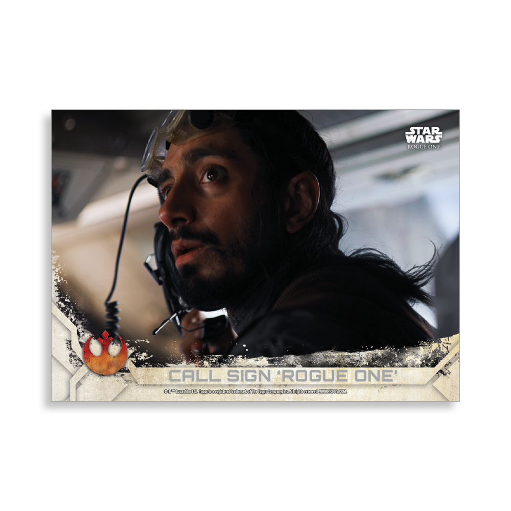 Call Sign 'Rogue One' - 2017 Rogue One: Series 2 Base Poster - #'d to 99