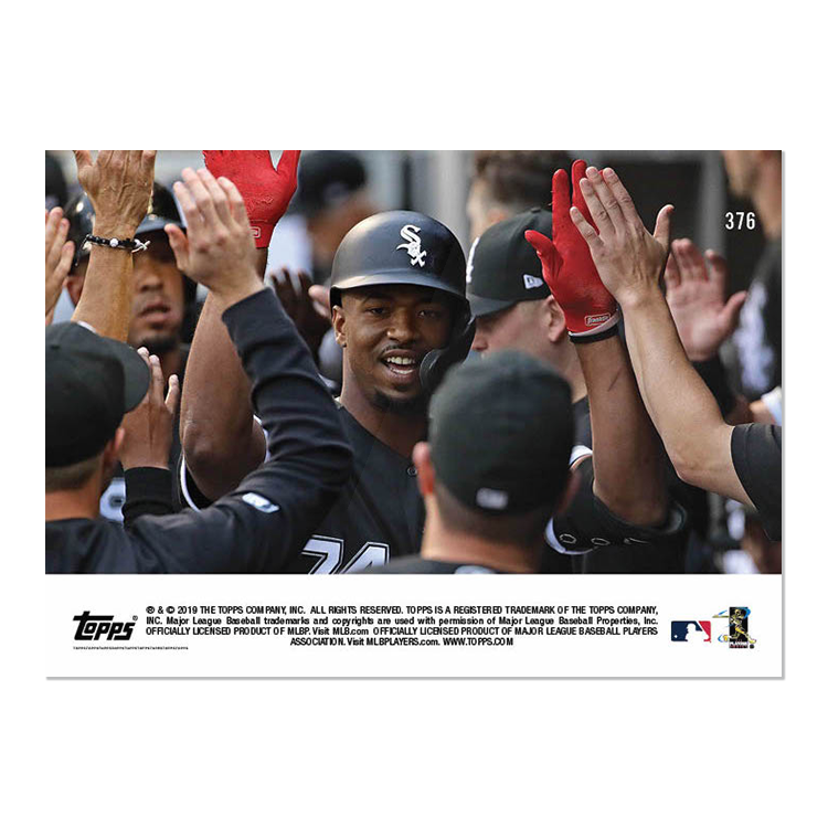 Eloy Jimenez - MLB TOPPS NOW® Card 376 - Print Run: 366