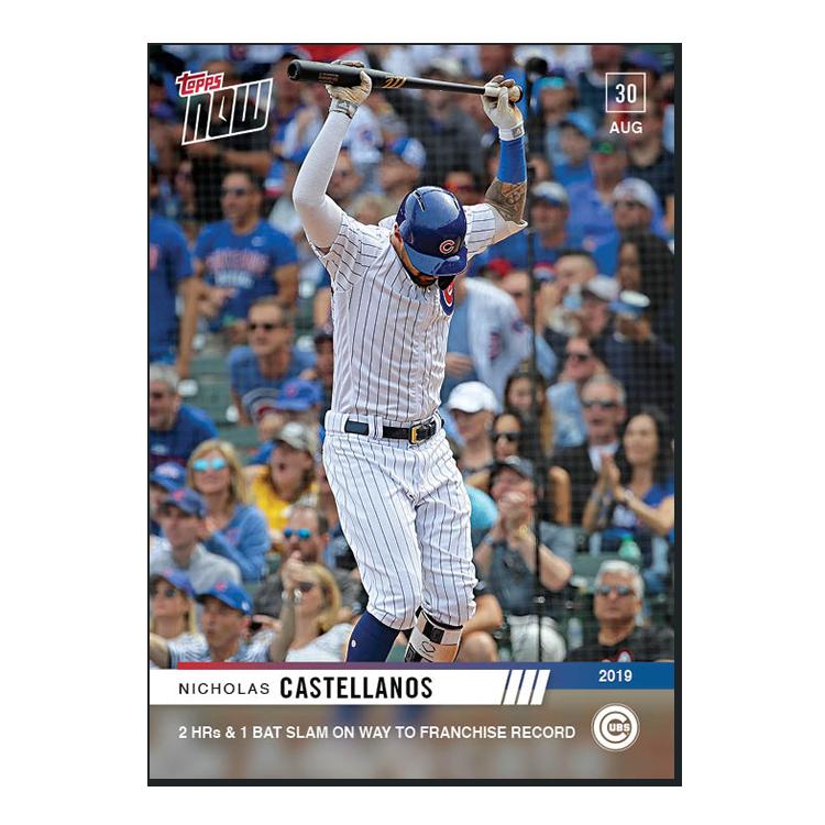 Nicholas Castellanos  - MLB TOPPS NOW® Card 768 - Print Run: 257