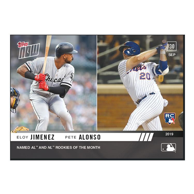 Jimenez/Alonso  - MLB TOPPS NOW® Card 928 - Print Run: 823
