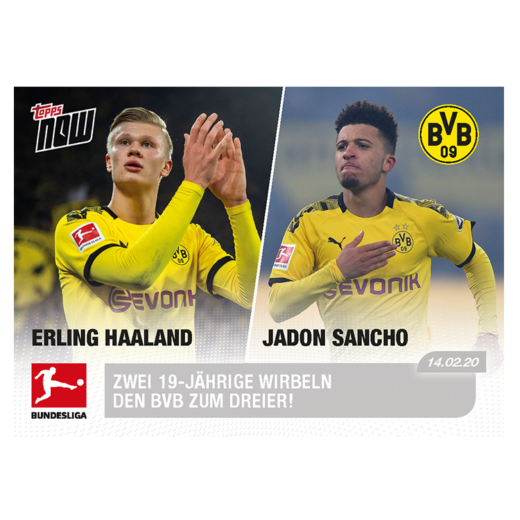 Wonderkids Strike Again Bundesliga Topps Now Card 123 Print Run 416