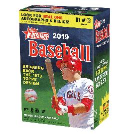 2019 Heritage Baseball Value Box