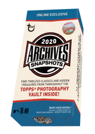 2020 Topps Archives Snapshots Baseball - Online Exclusive