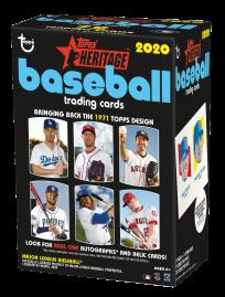 2020 Topps Heritage Baseball - Value Box