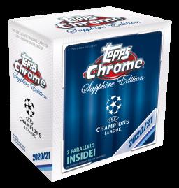 2020/21 Topps® UEFA Champions League Chrome Sapphire Edition